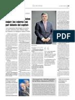 Entrevista al presidente de ASATA, Ruperto Iglesias, en La Nueva España