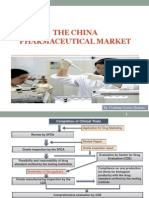 The China Pharmaceutical Market PPT