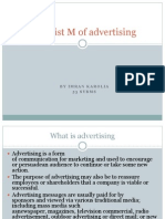 The Frist M of Advertising