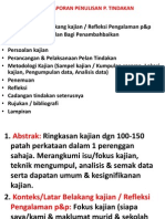 Format Laporan Penulisan p