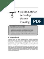 85293501 Topik 5 Nota Kesan Latihan Terhadap Sistem Fisiologi