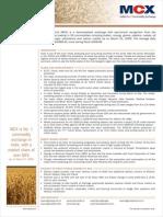 English Wheat Leaflet