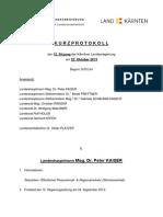 12 RS Kurzprotokoll Am 22.10.2013
