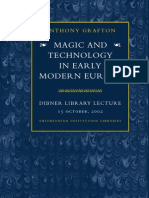 Magic and Technology in Early Modern Europe