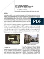 """THE """"CAPPADOCIA ACADEMY"""" A PROJECT ON DOCUMENTATION, PLANNING AND DEVELOPMENT IN CENTRAL ANATOLIA"""