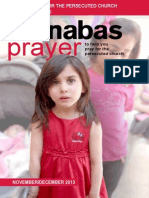 Prayer Diary November/December 2013