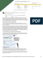 ABAP Runtime Analysis (SE30) - How to Analyze Abap Program Flow