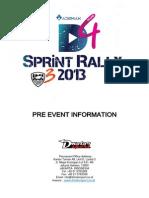 D4 Sprint Rally