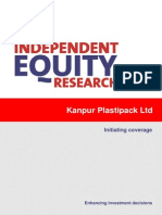 CRISIL Research Ier Report Kanpur Plasticpack