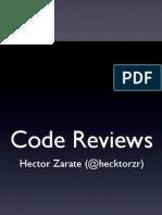 Code Reviews