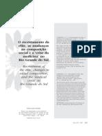 Institucionalização da Medicina no RS