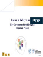 Basics in Policy Analysis 170en