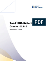 ToadforOracle 11.6.1 DBA Suite Installation Guide