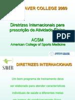 diretrizes internacionais 2009