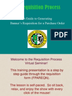 The Requisition Process -Ban7