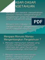II Dasar-dasar Pengetahuan
