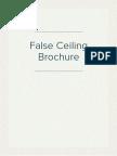 False Ceiling Brochure