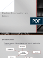 Lecture 2 Machine Deterioration and Failure
