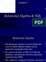 1352632440.4055Lecture5 Relational Algebra and SQL