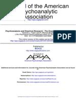 Psychoanalysis Alexythimia