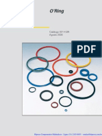Catálogo O'Rings Parker Sufixos Atualizados