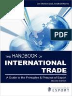 Business - Handbook of International Trade - Practice of Export - GMB - 2008