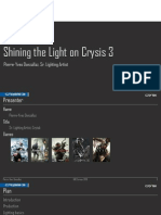 GDCE 2013 Shining the Light on Crysis 3
