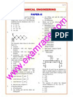 IES Mechanical Engineering Paper 2 2000
