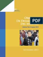 Objetivos de Desarrollo del Milenio - Informe Uruguay 2013