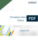 Catalogue Formation 2013 Fr