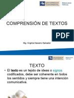 El Texto y La Microestructura