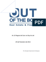 As 10 Regras de Ouro No Buy to Let