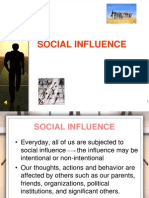 (Week 8b) Social Influence