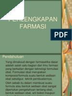 PERLENGKAPAN FARMASI