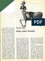 Piglia Ricardo - Notas Sobre Facundo