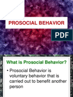 (Week 12 and 13 )Prosocial Behavior
