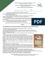 Ficha de avaliação 10º Literatura Portuguesa