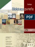 catalogo 50 libros biblioteca puneña