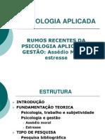 Psicologia Aplicada - Slides