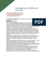 Lei Da Improbidade Administrativa 8429-92