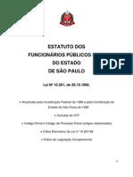 Estatuto Do Funcionario Publico Estadual Lei 10 261 68