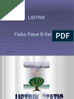 Listrik Statis PPT Ready
