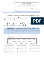 1 - Ficha Formativa - Alfabeto e ordem Alfabética (1)