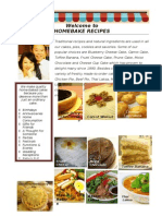Homebake Recipes WEF 2013 Oct 3