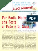 Radio Mater Giornalino 44