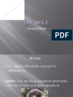 Moles Ppt