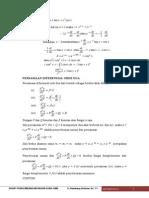 Persamaan Diferensial Orde 2