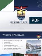 캐나다 밴쿠버 AC Presenation English