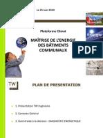 SCOT-Maitrise Energie Batiments Communaux 25 Juin TWI