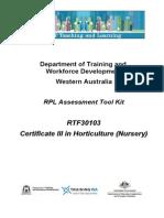 AH1682 CertIII Horticulture Nursery
